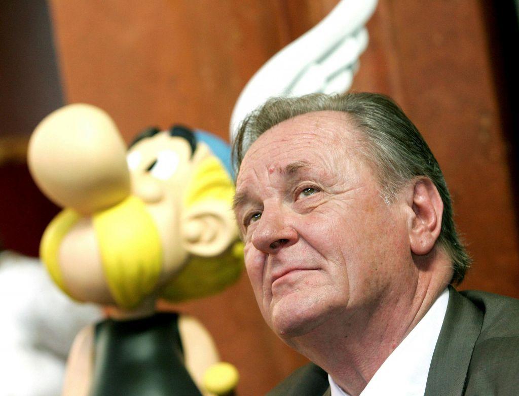Umrl je oče Asterixa