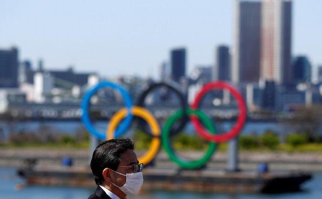 Na Japonskem je odločitev o preložitivi olimpijskih iger sprožila veliko razočaranje. FOTO: Reuters