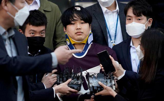 Čo Džu Bin je bil vodja skupine spletnih izsiljevalcev, ki so spolno zlorabljali tudi mladoletnice. FOTO: Kim Hong Dži