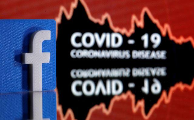 Zaradi koronavirusa Facebook poka po šivih. FOTO: Dado Ruvic/Reuters