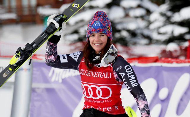 Tina Weirather sodi med vidnejše alpske smučarke zadnjega obdobja. FOTO: Reuters