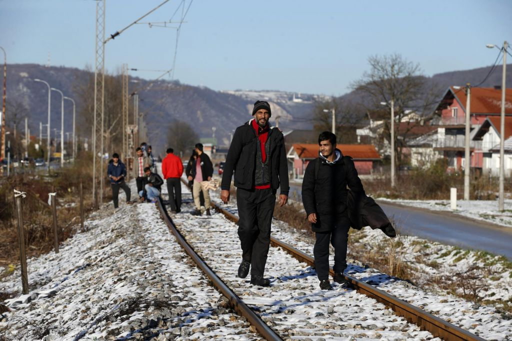 FOTO:Migrantski problem je izginil samo iz medijev