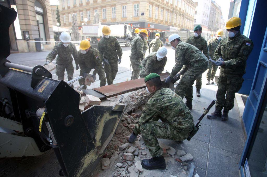 Zaradi potresa v Zagrebu več sto milijonov evrov škode