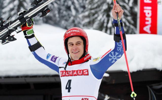 Žan Kranjec je bil tudi v minuli sezoni najboljši slovenski smučar v svetovnem pokalu. FOTO: Reuters
