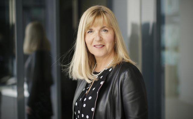 Medeja Lončar, nova predsednica Združenja Manager, direktorica Siemens Slovenija in predsednica uprave Siemens Hrvaška. FOTO: Jure Eržen