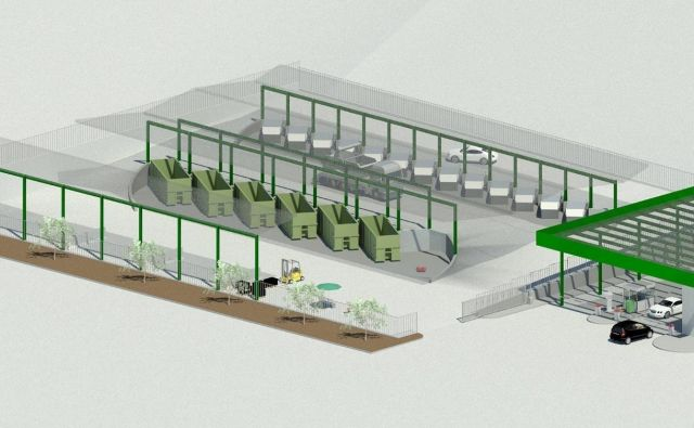 Zbirni center v Suhadolu bo zadostil okoljskim predpisom. Arhiv: Občina Kamnik