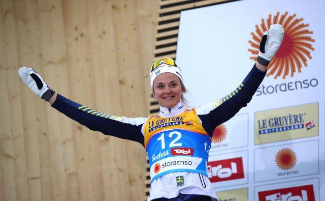 Stina Nilsson se bo poslej dokazovala v biatlonu. FOTO: Reuters