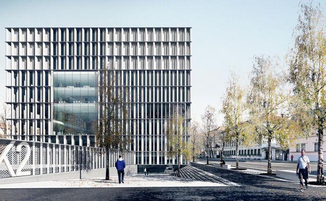 Vhod nasproti Filozofske fakultete se bo simbolno navezoval na univerzo, drugi s Križank pa na Plečnikovo knjižnico.