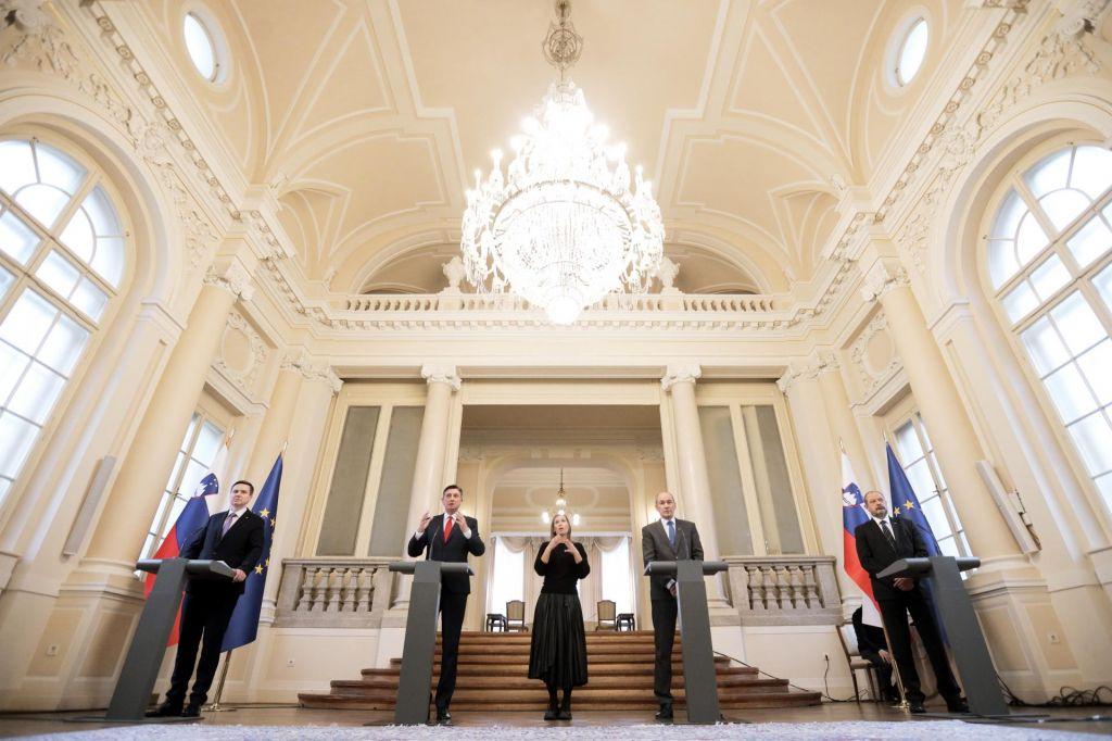 FOTO:Predsednik republike: Tako kot bomo preživeli to krizo, tako bomo živeli tudi po njej