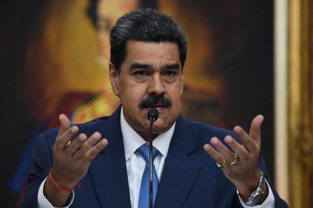 Washington vložil obtožnico proti Maduru in zanj razpisale tiralico