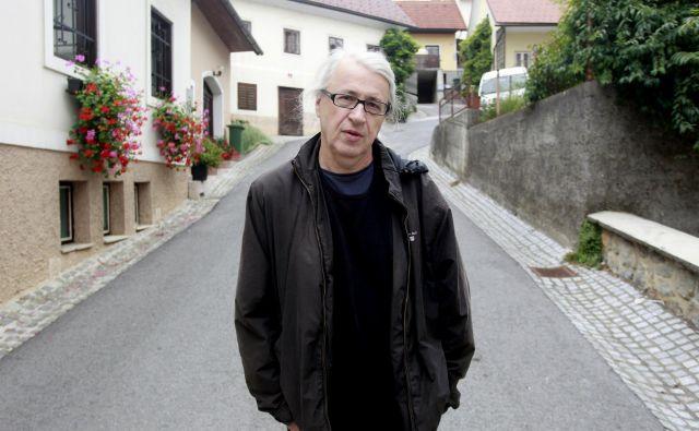 Marcel Štefančič, jr., tokrat razpravlja o glasbi. FOTO: Roman Šipić