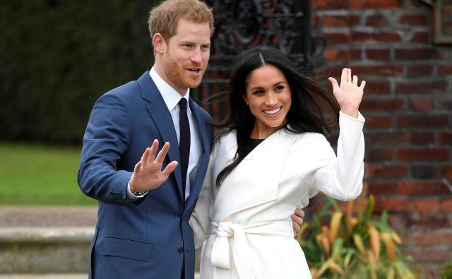 Princ Harry in Meghan Markle sta že dlje časa načrtovala selitev v Los Angeles. FOTO: Toby Melville/Reuters