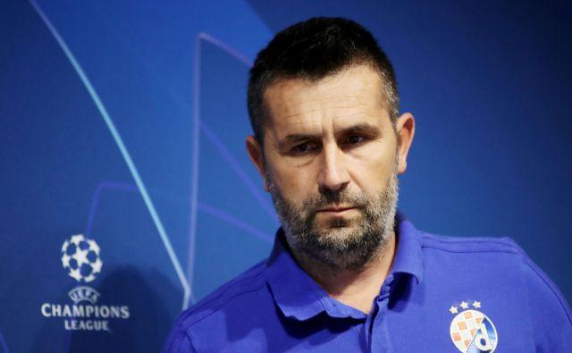Nenad Bjelica je bil v tej sezoni uspešen tako v ligi prvakov kot hrvaškem prvenstvu. FOTO: Reuters