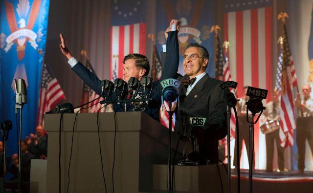 Lindbergh (Ben Cole) in rabin Bengelsdorf (John Turturro) sta nenavaden politični par. Foto promocijsko gradivo