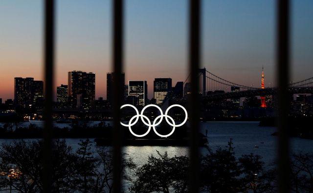 Mednarodni olimpijski komite je pred dnevi zaradi pandemije novega koronavirusa na leto 2021 preložil OI v Tokiu. FOTO: Reuters