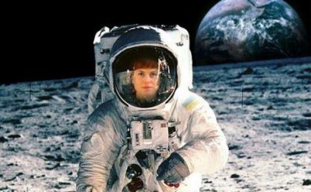 Nika Vistoropski na Luni FOTO: Osebni Arhiv
