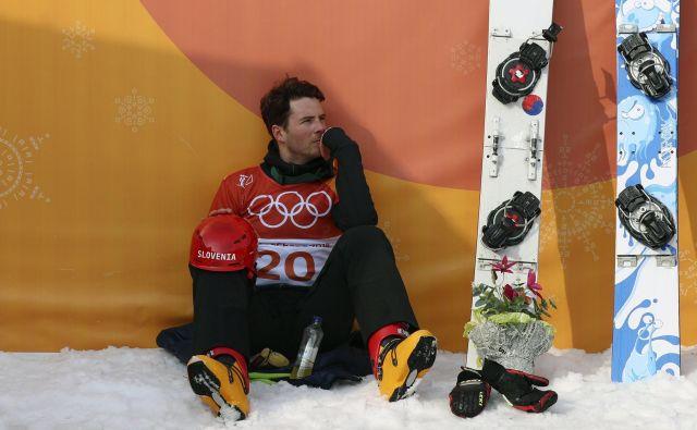 »V glavi sem že pred časom razčistil, da si želim nastopiti v Pekingu,« se je po neposrečeni sezoni že odločil, da bo kariero potegnil do ZOI čez dve leti, Žan Košir. FOTO: Reuters