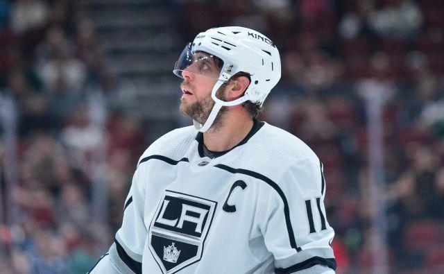 Anžeta Kopitarja, kapetana Los Angelesa, najbrž ne bo prav posebej vznemirila možnost končnice NHL v avgustu. FOTO: USA Today
