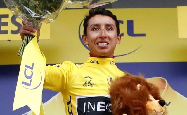 Zmagovalec lanskega Toura je bil kolumbijski kolesar Egan Bernal. FOTO: Reuters