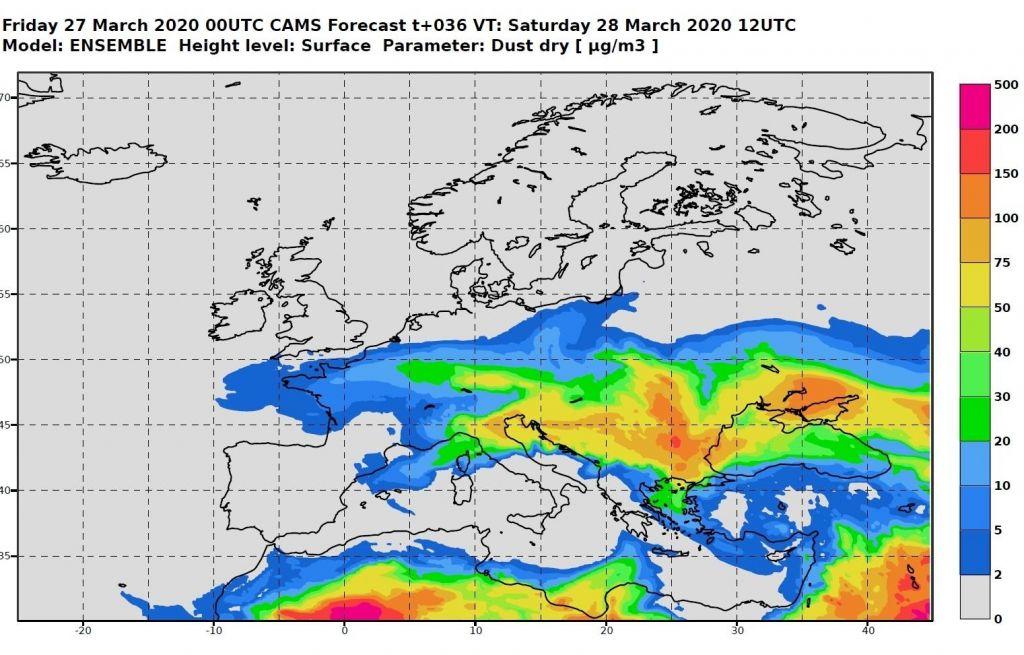 Po vsej Sloveniji tudi danes visoka vrednost delcev PM 10 v ozračju