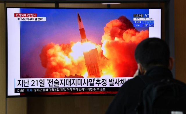 V Južni Koreji so menili,da je testiranje raket zdaj precej neprimerno. FOTO: Jung Yeon-je Afp