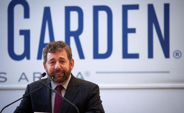 Čeprav je okužen, Jim Dolan ne bo izpustil delovnih obveznosti. FOTO: Reuters