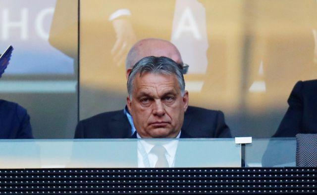 Zakonodaja predsedniku madžarske vlade med drugim omogoča, da v času izrednih razmer začasno zaustavi izvajanje kateregakoli zakona v državi. FOTO: Kai Pfaffenbach/Reuters