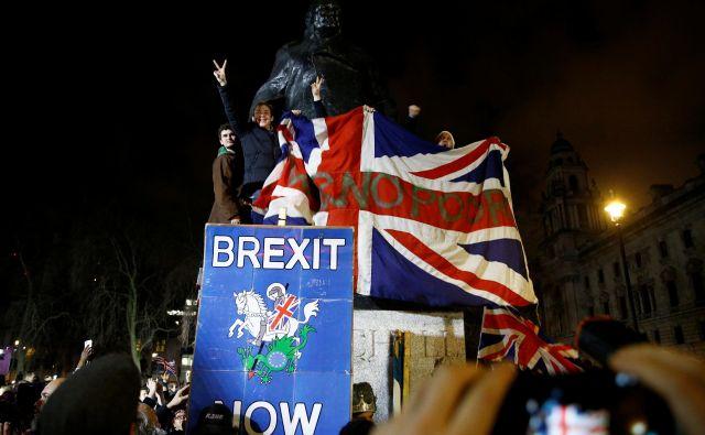 Združeno kraljestvo bo imelo v odnosih z Evropsko unijo kmalu enak status, kakor da nikoli ne bi bilo del nje. FOTO: Henry Nicholls/Reuters