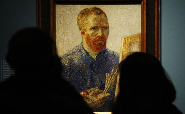 Vincent van Gogh (1853–1890) se je rodil v Zundertu na Nizozemskem.FOTO: Luke MacGregor/Reuters