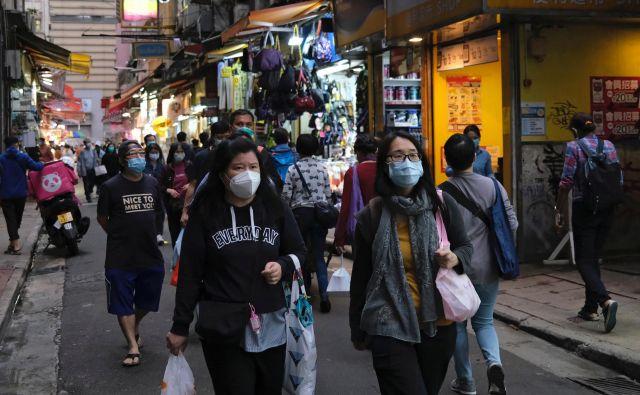 Utrinek iz trgovskega centra v Honkongu. FOTO: Tyrone Siu/Reuters