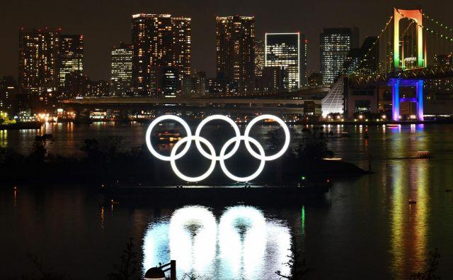 OI v Tokiu se bodo začele 23. julija 2021. FOTO: AFP