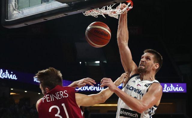Čeprav se je zdelo, da je Gašper Vidmar že rekel zbogom reprezentanci, je zdaj pred njim tudi olimpijski izziv. Foto Reuters