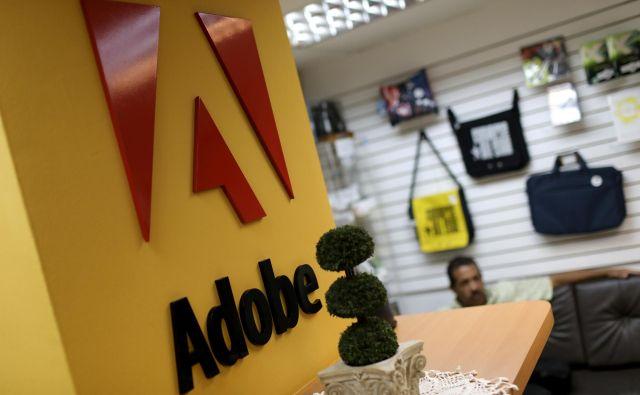 Močna in prepoznavna globalna znamka je ena ključnih prednosti, ki jo ima Adobe. FOTO: Reuters