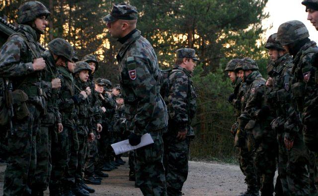 Vlada je potrdila besedilo predloga za podelitev izjemnih pooblastil vojski. FOTO:Šipić Roman