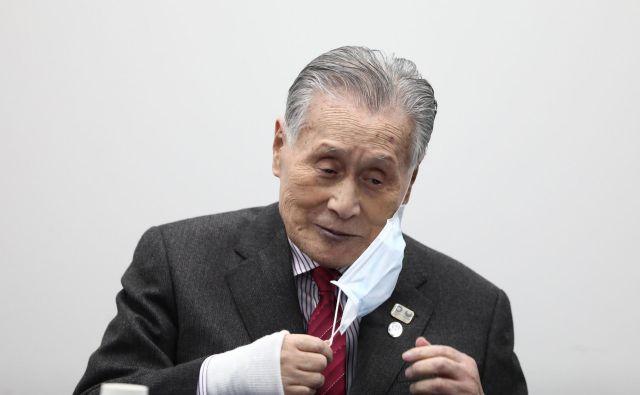 V nečedne posle naj bi bil vpleten celo predsednik organizacijskega odbora OI Joširo Mori. FOTO: AFP
