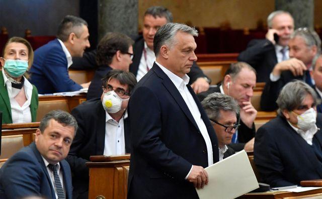 Je s »pomočjo« pandemije koronavirusa madžarski premier Viktor Orbán res postal prvi diktator v Evropski uniji? FOTO: AFP