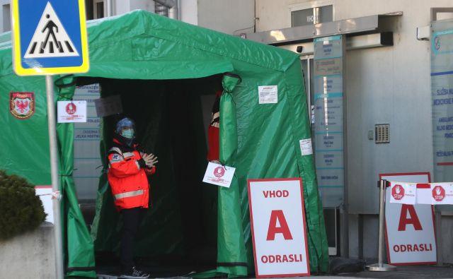 Po včerajšnjih podatkih je bilo v Sloveniji potrjenih26 novih okužb zvirusom sars-cov-2, skupno potrjenih okužb pa je 763.FOTO: Dejan Javornik