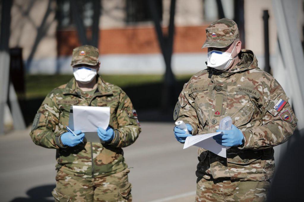 Vlada s predlogom za podelitev izjemnih pooblastil vojski