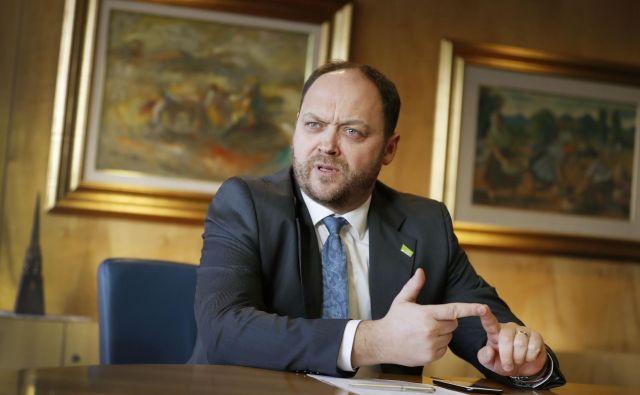 Treba bo razmišljati o kakovostnem paketu številka dva, ki bo rešil likvidnostno situacijo podjetij, je dejal predsednik GZS Boštjan Gorjup..Foto Leon Vidic