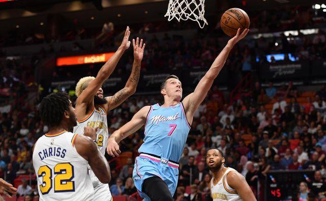 Če se bo koledar NBA spremenil, Goran Dragić (levo) letos morda sploh ne bo prišel v Slovenijo. FOTO: USA Today Sports