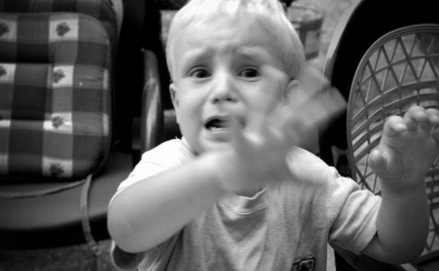 Le zakaj otrok joka? Foto Leon Vidic/Delo