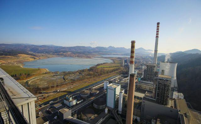 TEŠ je drugi največji energetski objekt v državi, takoj za jedrsko elektrarno Krško. Foto Jože Suhadolnik