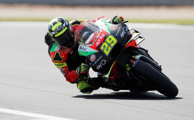 Andrea Iannone ne bo dirkal vse do 16. junija leta 2021. FOTO: Reuters