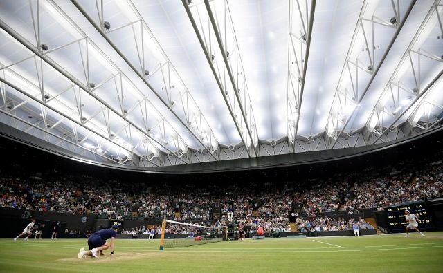 Že 134. izvedba turnirja ima nadomestni termin– od 28. junija do 11. julija 2021. FOTO: Reuters