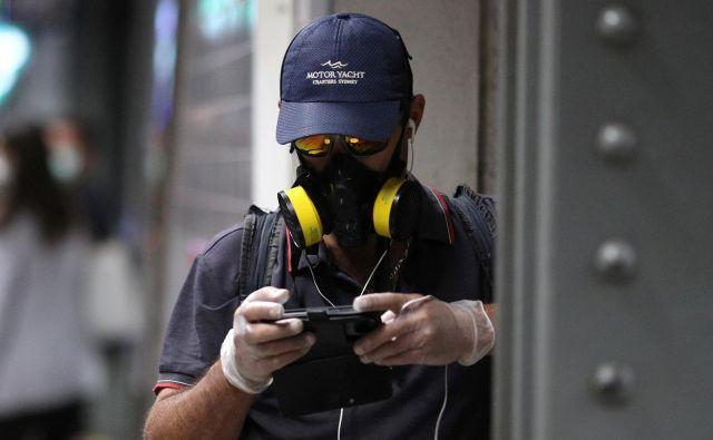 Nadzor, ki ga v imenu javnega zdravja izvajajo v azijskih državah, je na Zahodu nepredstavljiv. Foto Reuters