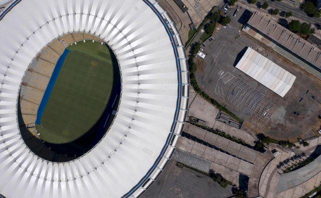 Stadion, ki je ime dobil po reki v Riu de Janeiru, uradno ime pa se glasi stadion novinarja Maria Filha, so zgradili za svetovno prvenstvo leta 1950. Foto Mauro Pimentel/ AFP