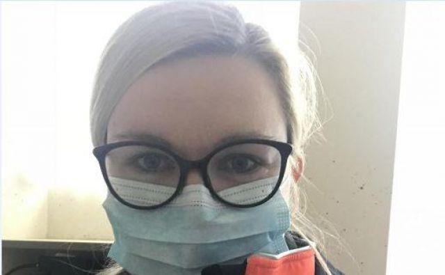 Zdravnica Tanja Šeligo Drame si skupaj s sodelavci srčno želi, da bi se razmere čim prej normalizirale. Foto Osebni Arhiv
