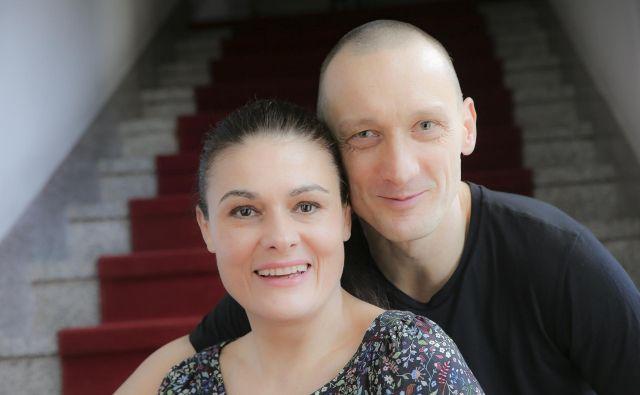 Pia Zemljič in Marko Mandić FOTO: Jože Suhadolnik