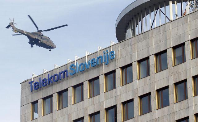 Telekomu Slovenije so slabe naložbe lani odnesle skoraj ves dobiček. FOTO: Mavric Pivk/Delo