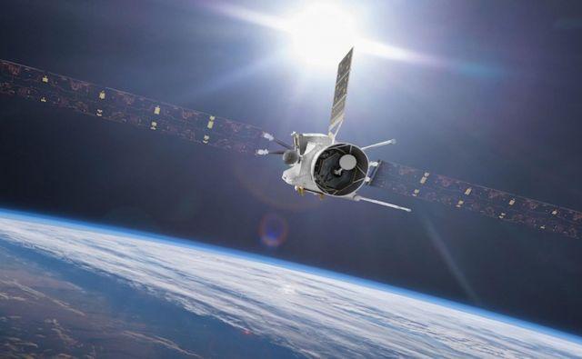 BepiColombo bo 10. aprila znova in hkrati zadnjič v bližini Zemlje. FOTO: Esa